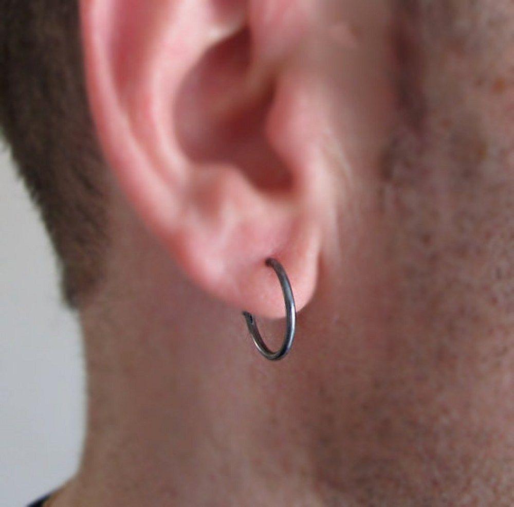 male Hoop Earrings