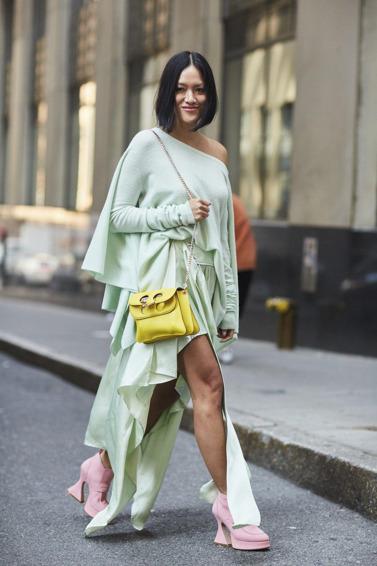 Spring Mint green fashion