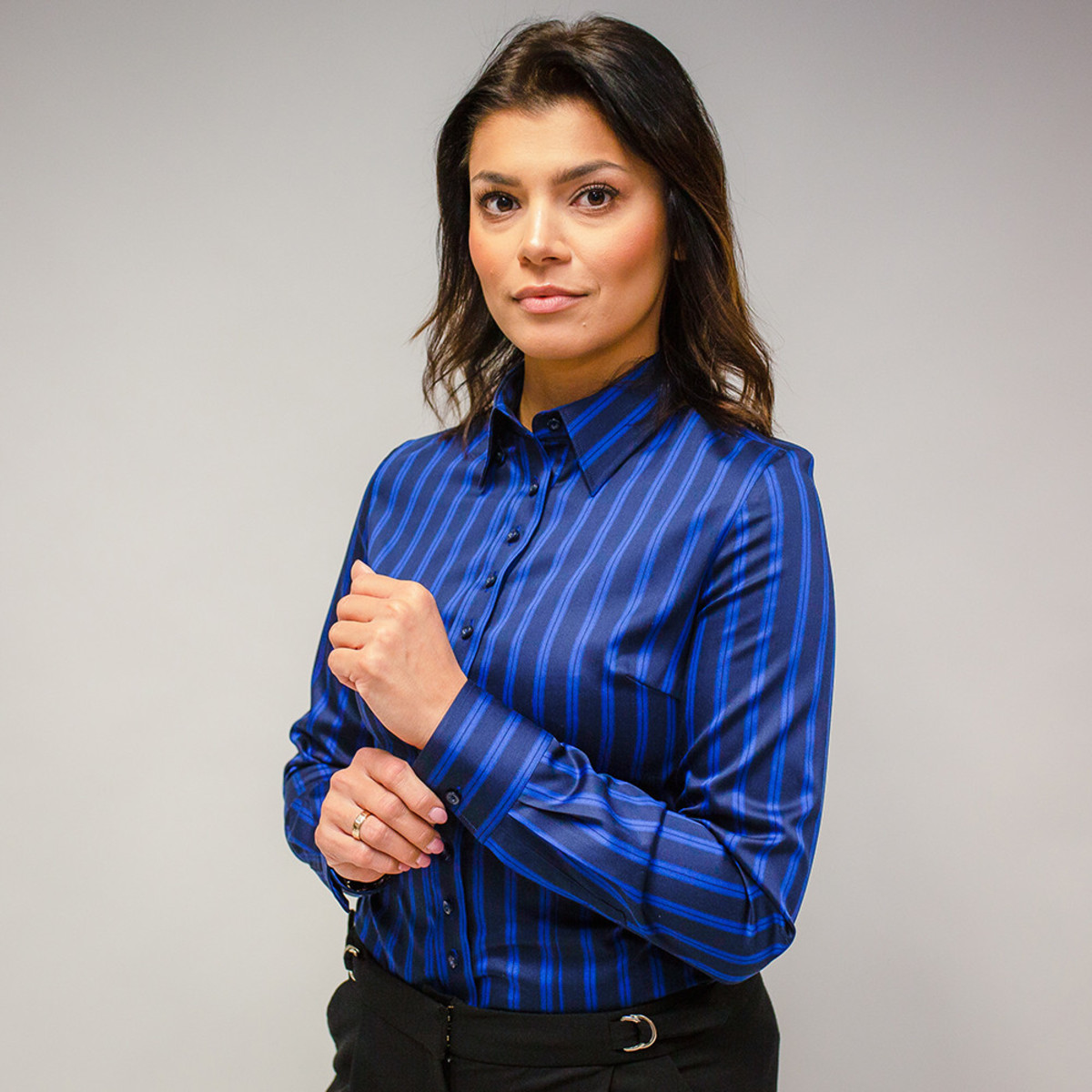 Striped Long Sleeve Shirts for Women