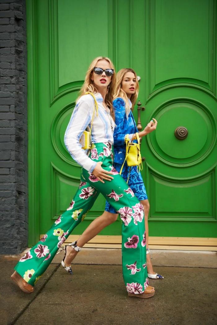Women's Patterned Pants Trend