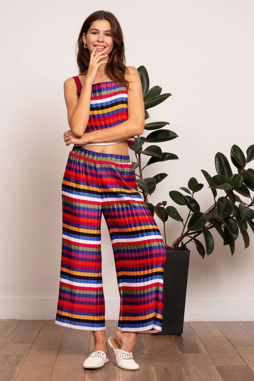 rainbow's colors fashion