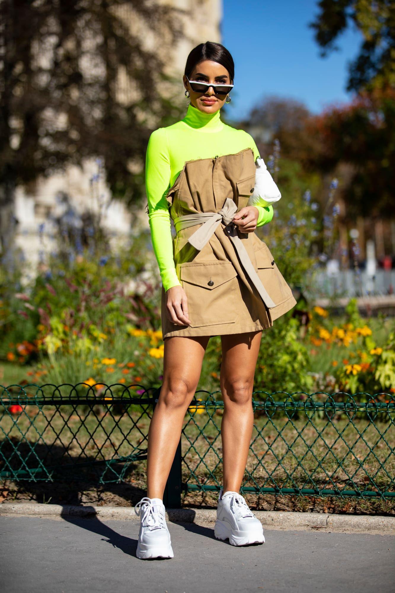 Spring Soft yellow fashion