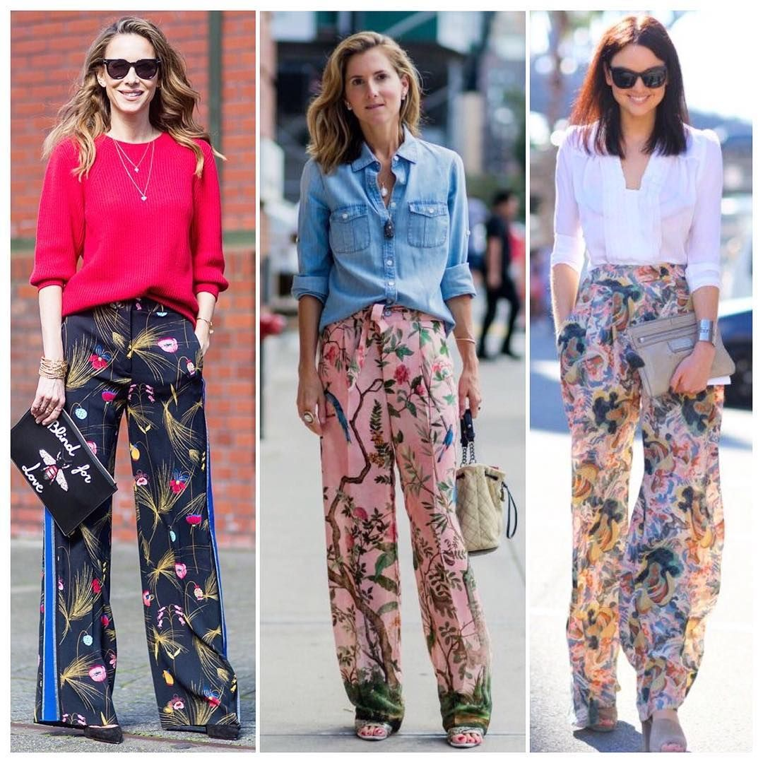Women Floral Printed Pants