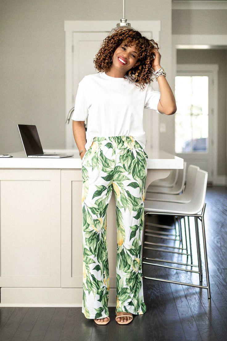 women's patterned pants