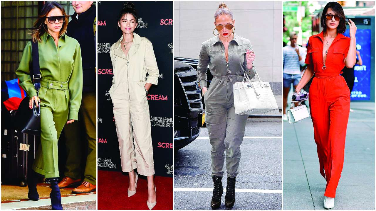 Feminine colours boiler suit trends