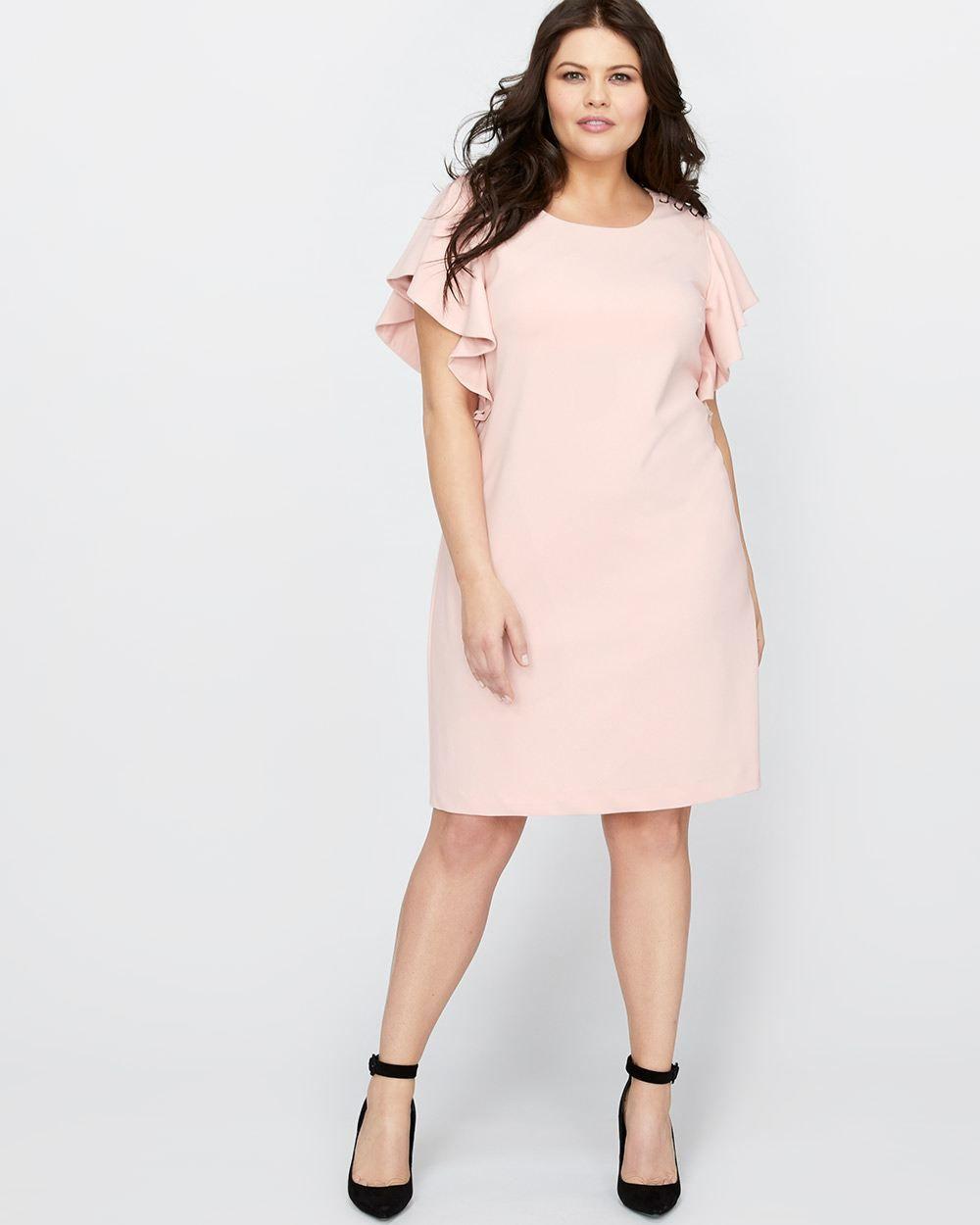 Straight Cut Plus Size Dresses