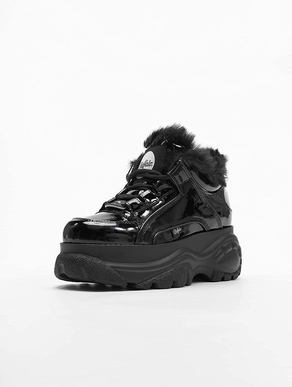 BUFFALO Womens 1339-14 2.0 Platforms Shoes Black