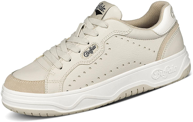 Buffalo Match - Sneaker Low - IMI Nappa/IMI Suede - Cream Microfibre