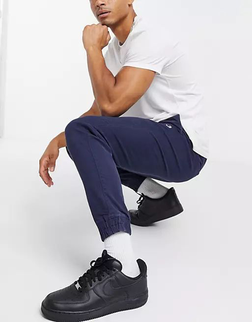 Champion tapered chinos in navy
