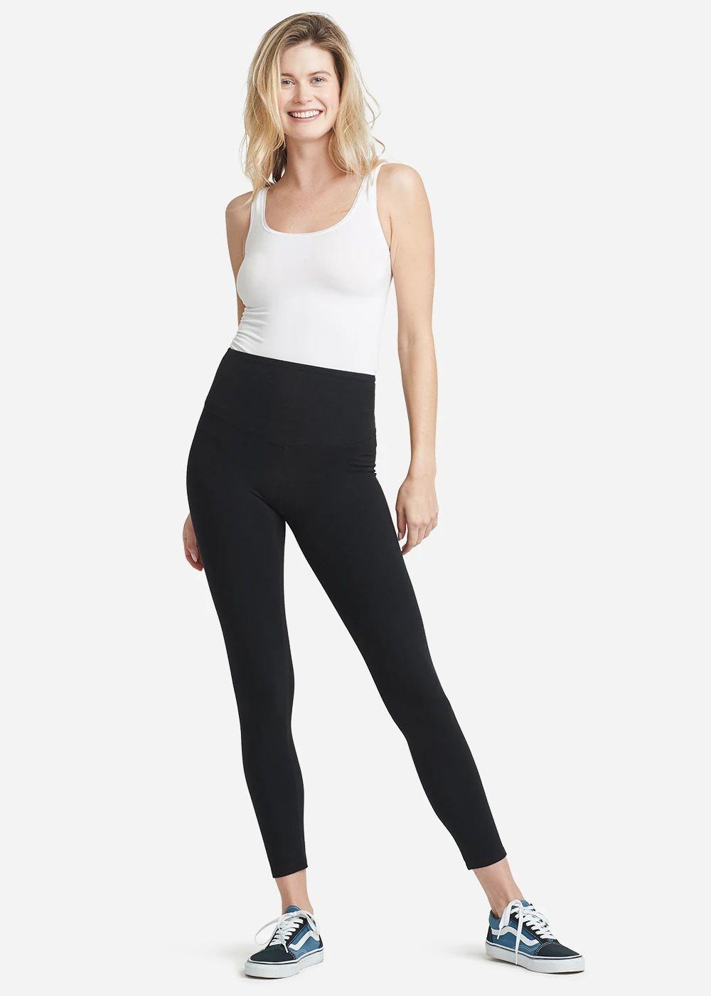 White Cotton Top with legging