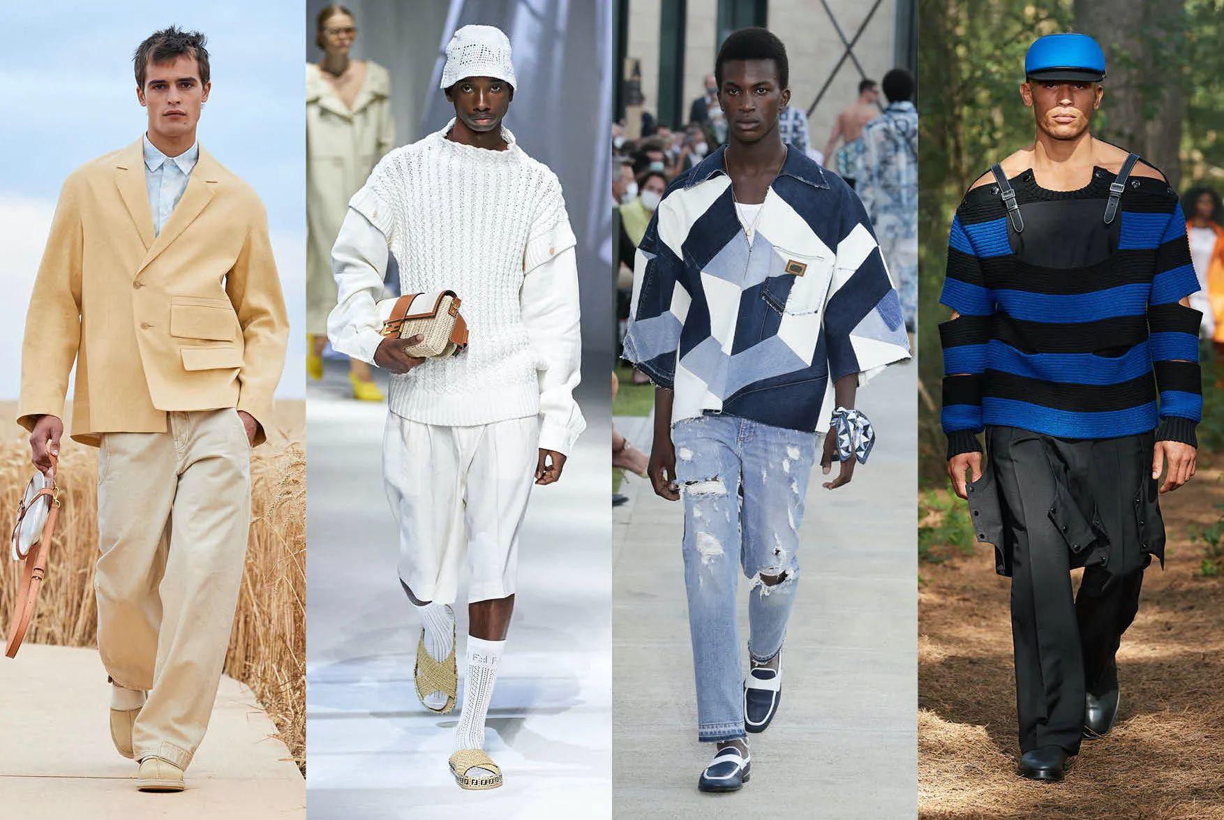 Seasonal colours in fashion