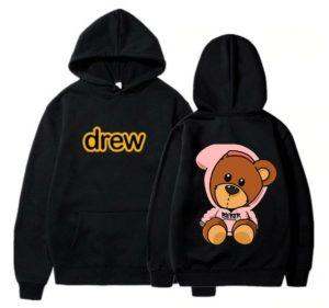 Justin Bieber Bear Sweatshirt Clothing Pullover Hoodie