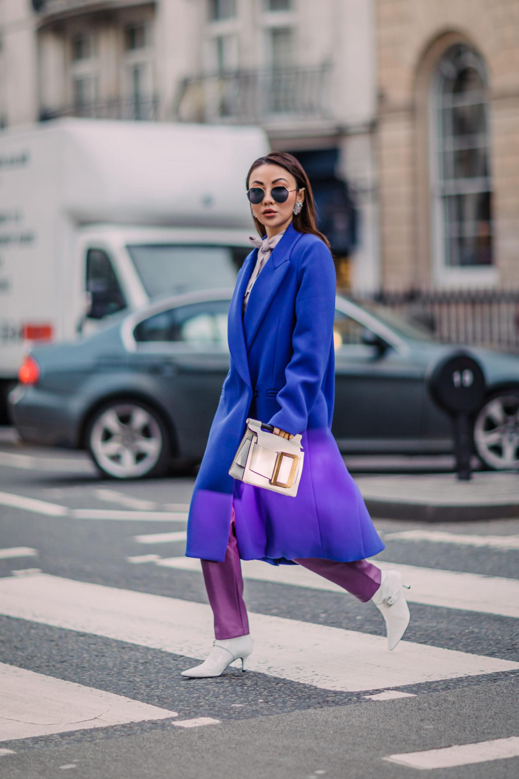 Winter Sapphire Blue fashion