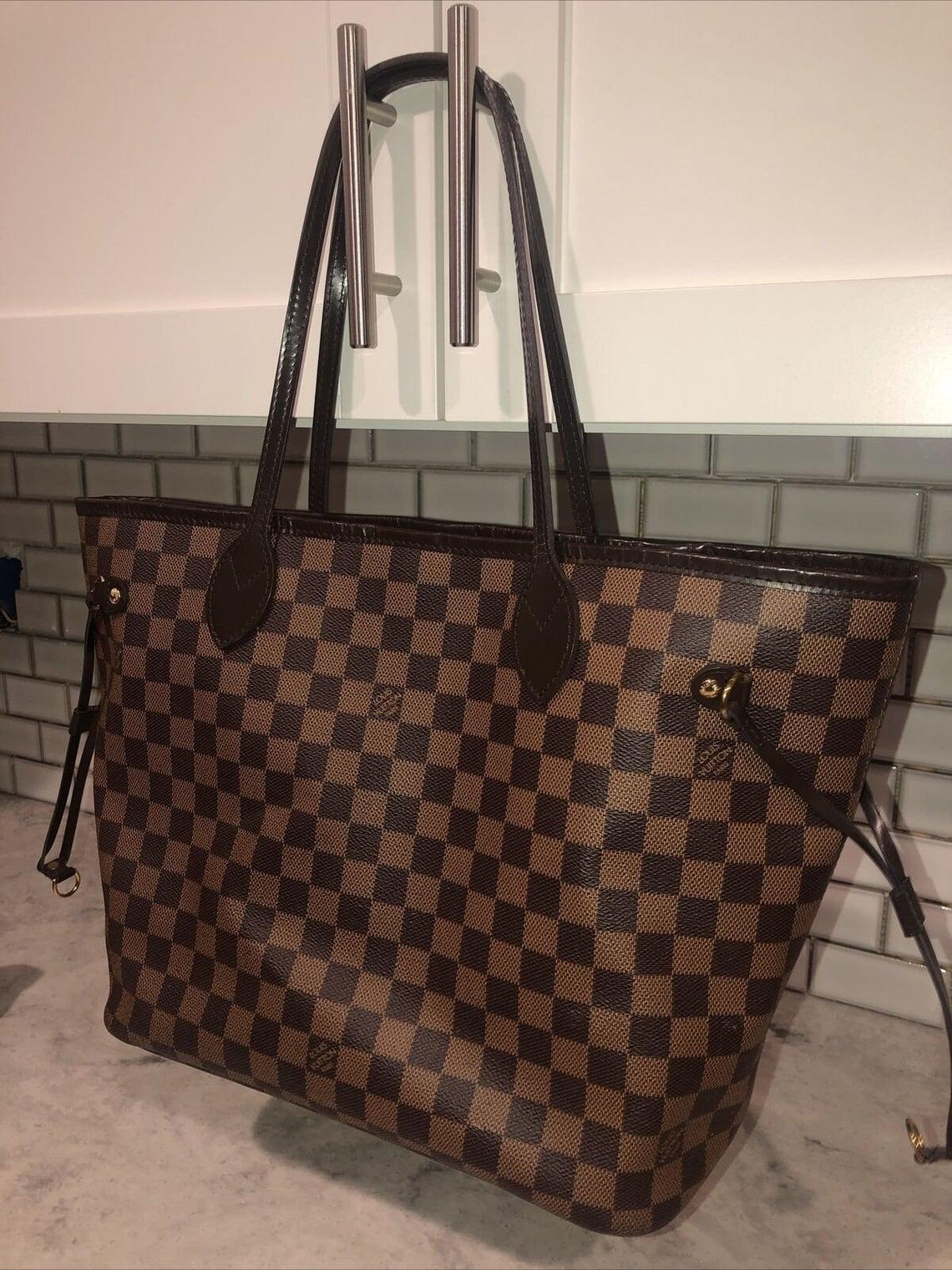 LOUIS VUITTON AUTHENTIC Neverfull Handbag Brown ( Read The Description)