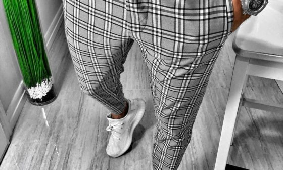 Mens Skinny Cropped Pants For Fashionable Living