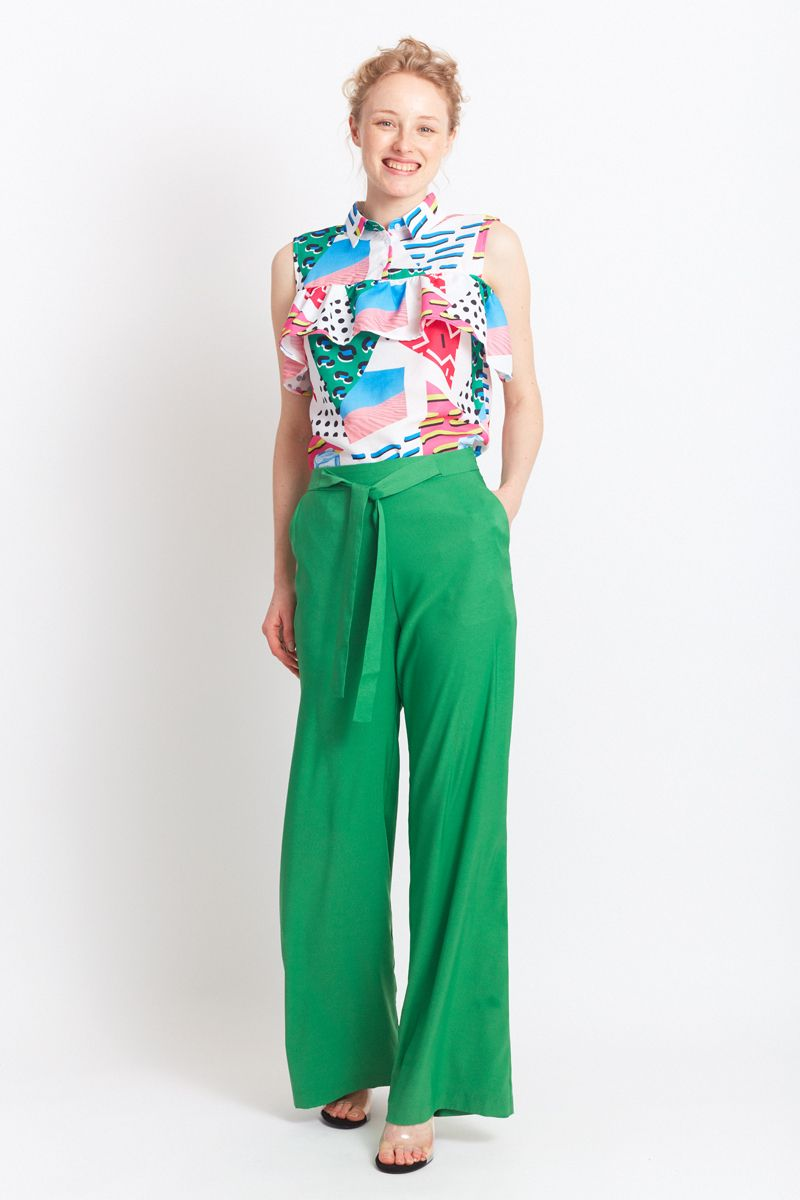 Migle + Me Cuenca Green Trousers