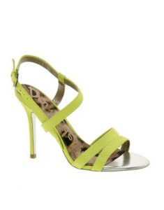Green Strappy sandals