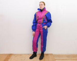 TIGARA Women's L Colour Blocks Multi Snowsuit