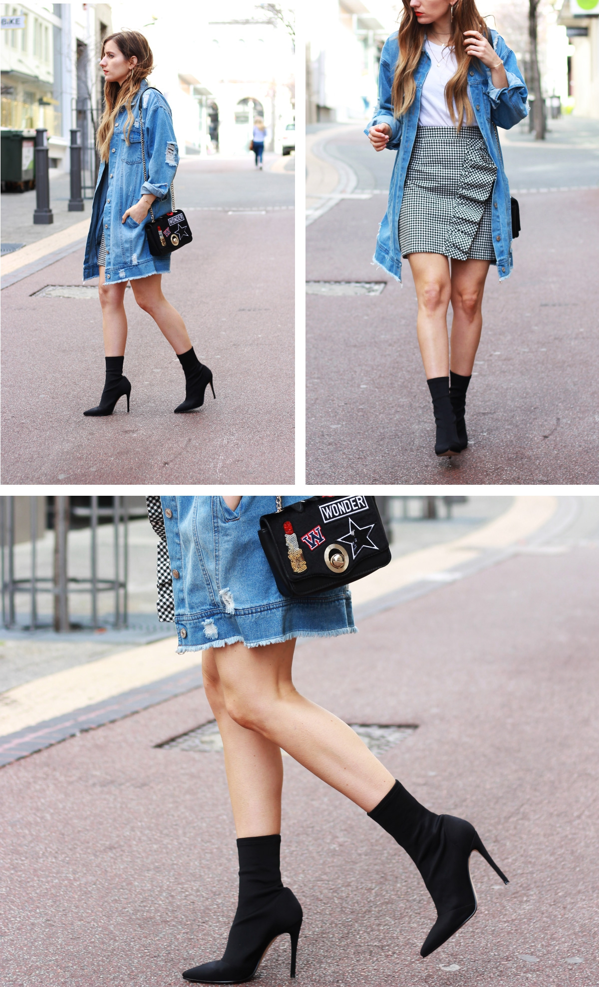 sock fit ankle boots
