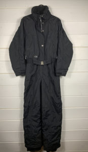Vintage CB SPORTS Black Ladies Winter Ski Snow Suit