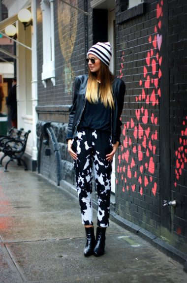 Why You Should Get Cow Print Jeans