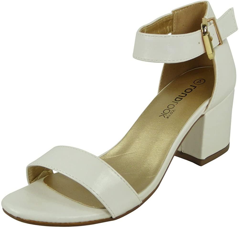 Women Ankle Strap Sandals | Heeled Sandals | Sandals for Women | Chunky Heel Sandals | Summer Sandals Women | Buckle Sandals for Women