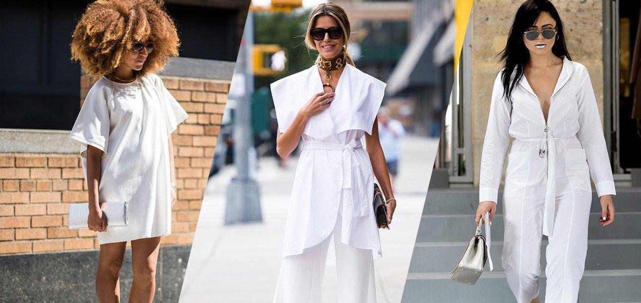 White colour fashion trend