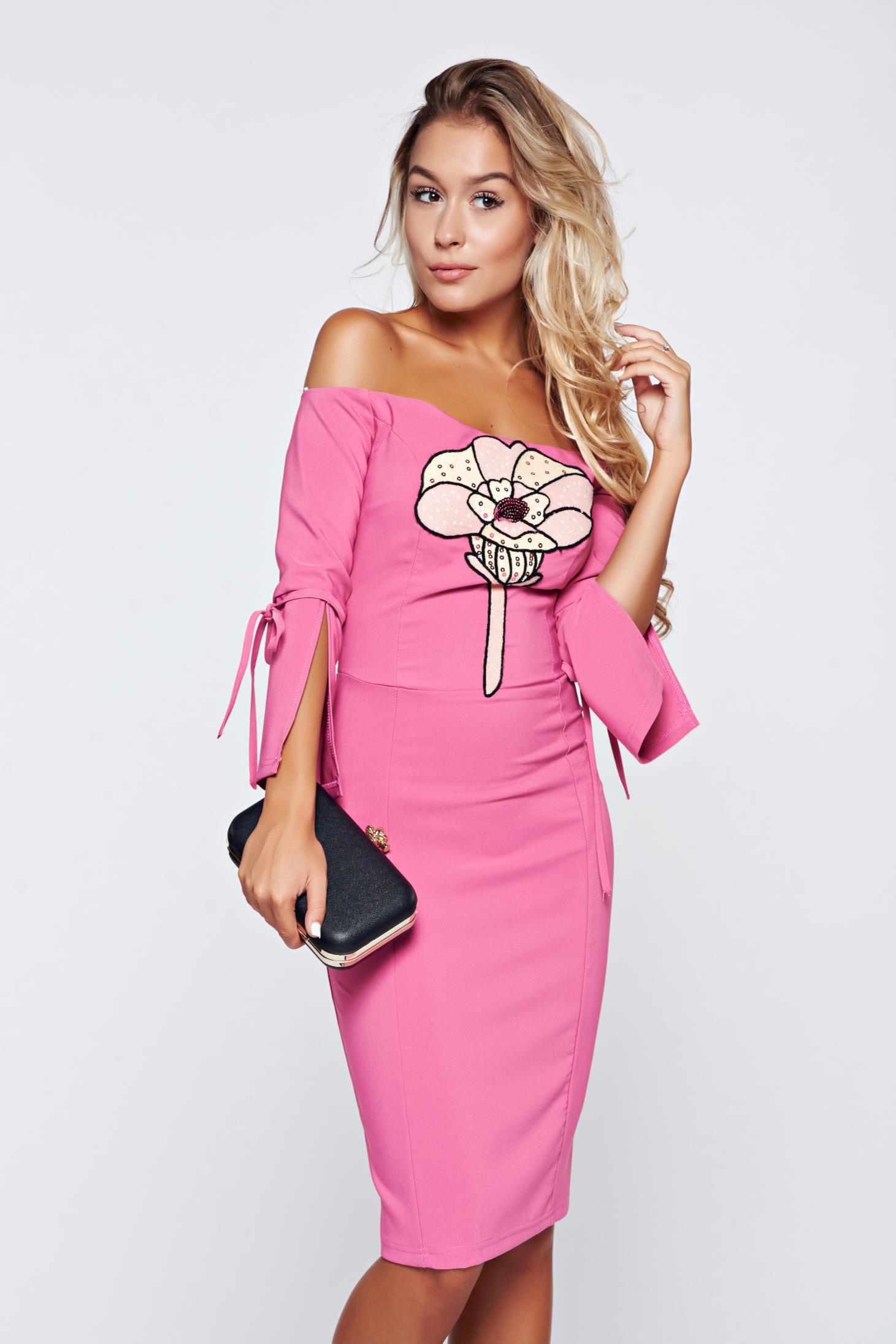 Pink Pencil Dresses
