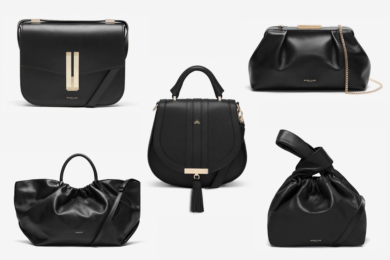 womens black handbags
