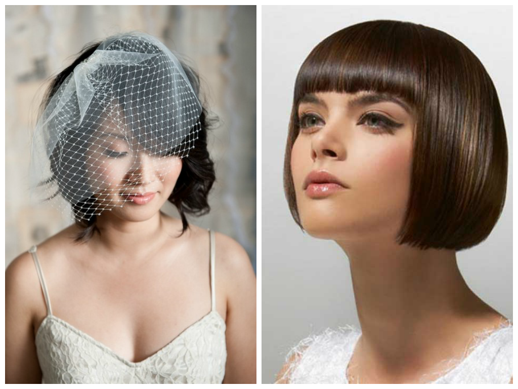 Women's Short BluntBobwithBangs Hairstyle
