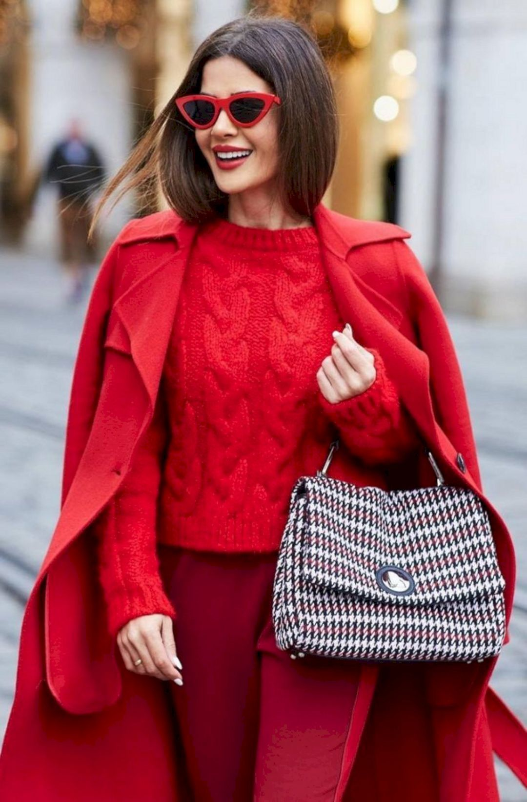 Winter Ruby Red fashion