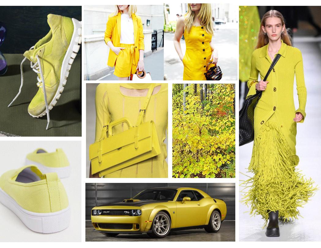 Summer Lemon Yellow fashion trend