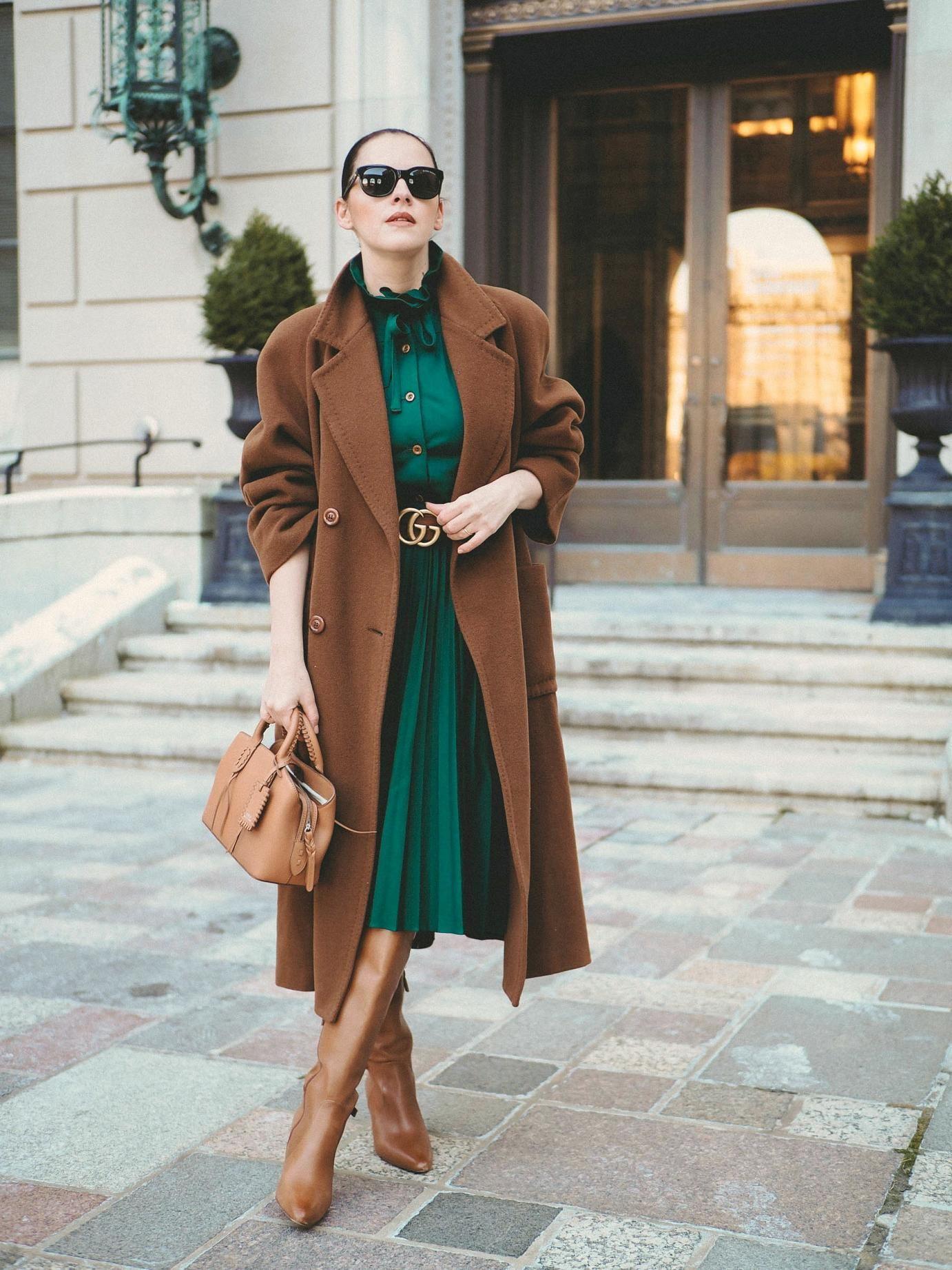Winter Emerald Green fashion