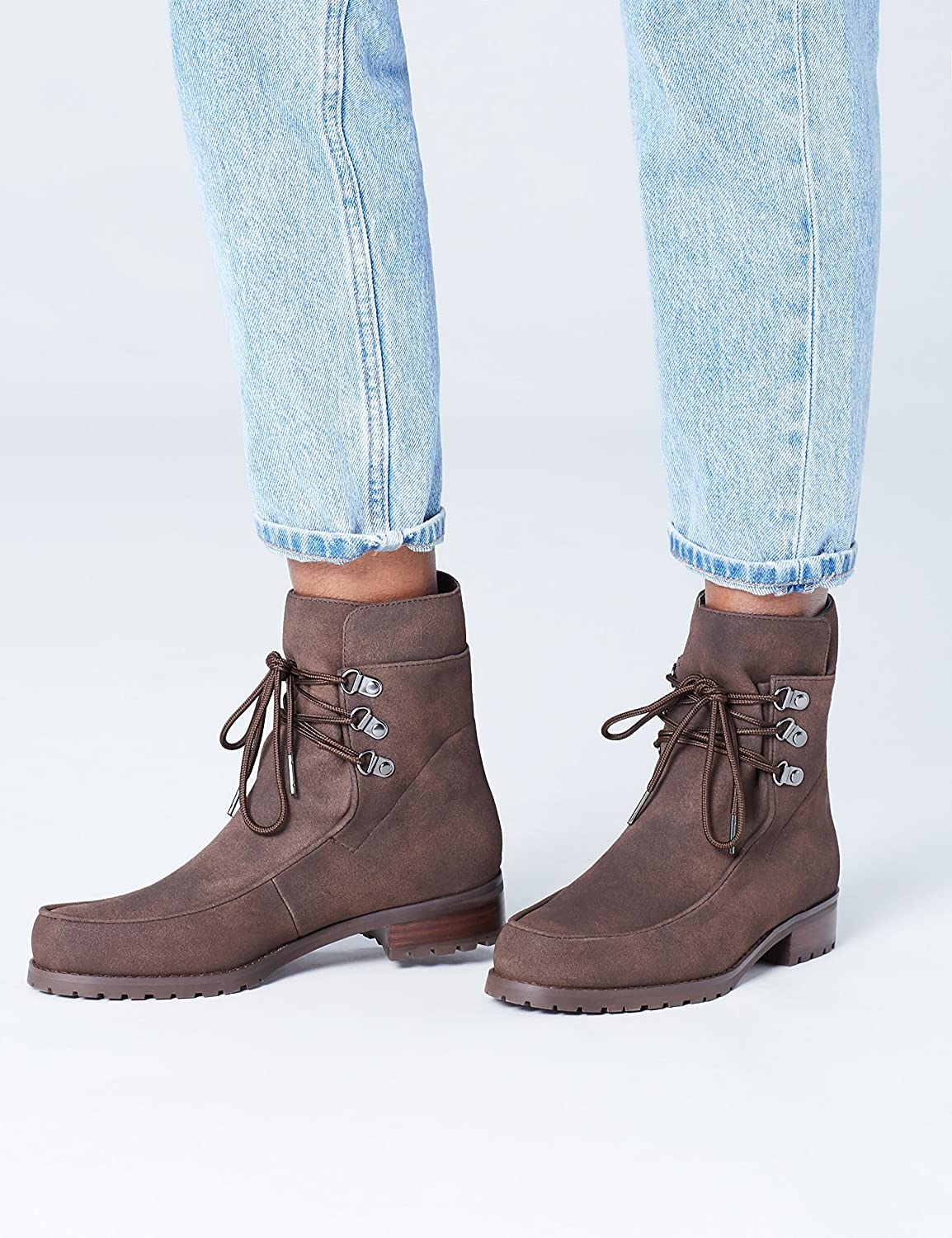 find. Women's Suede-Look Lace-up Hiking Boots