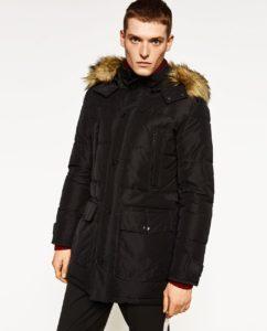 fur hoodie for men image
