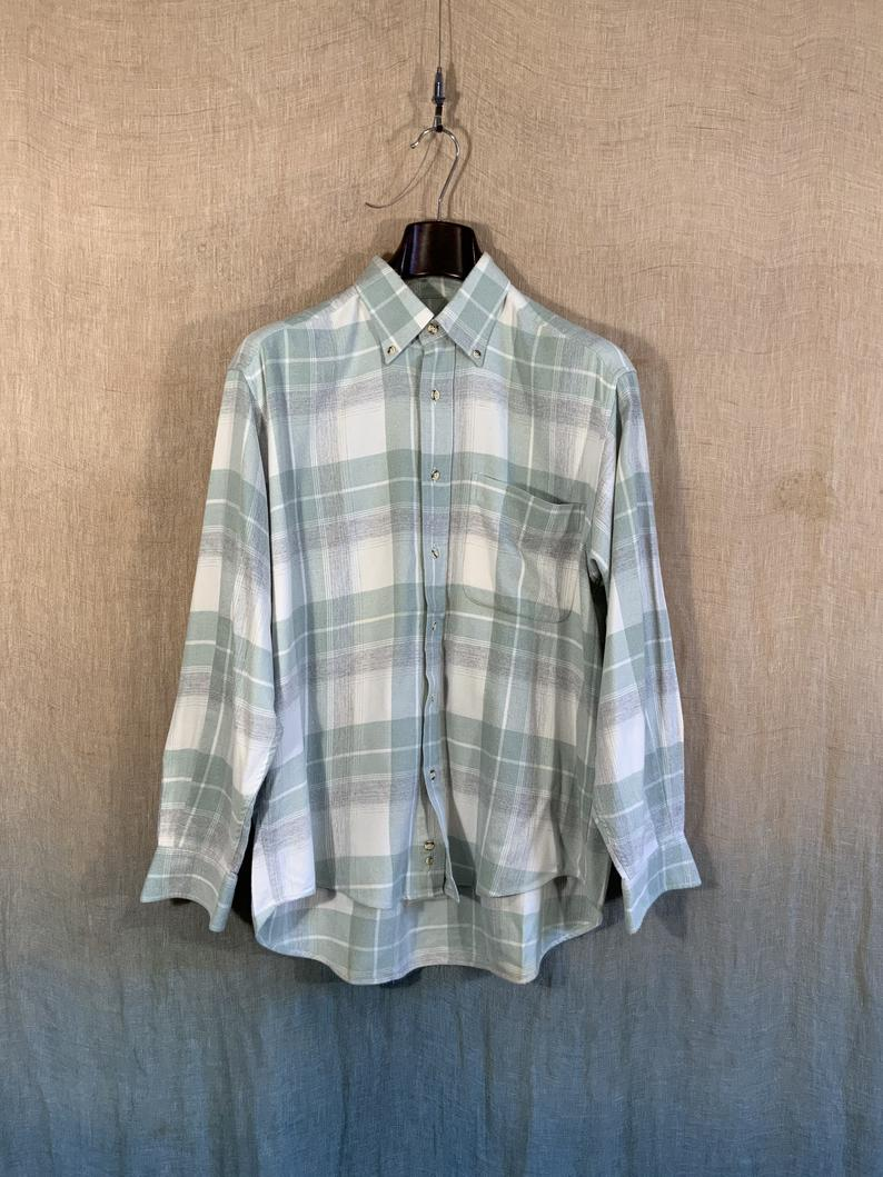 thick warm winter checked shirt