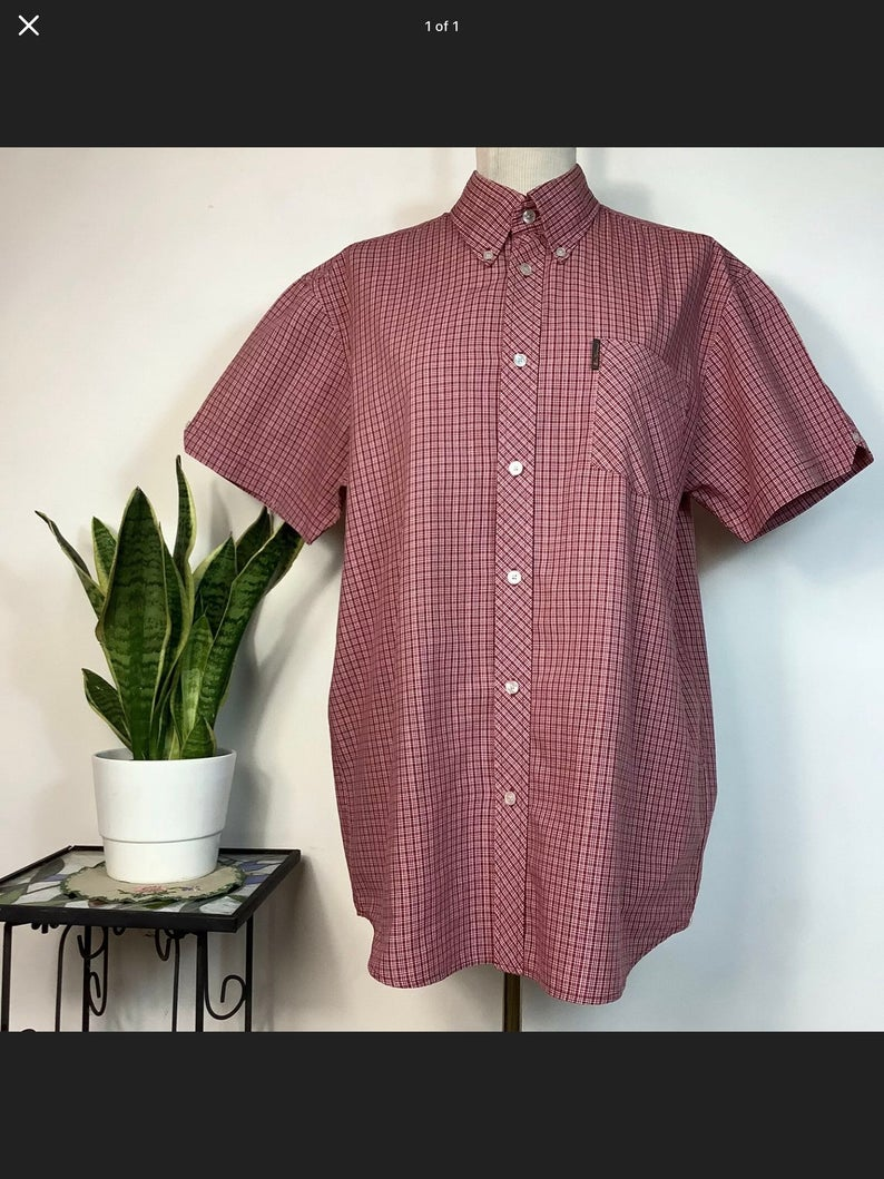 Vintage Ben Sherman checked shirt