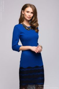 sequin Knitted Midi Dresses image