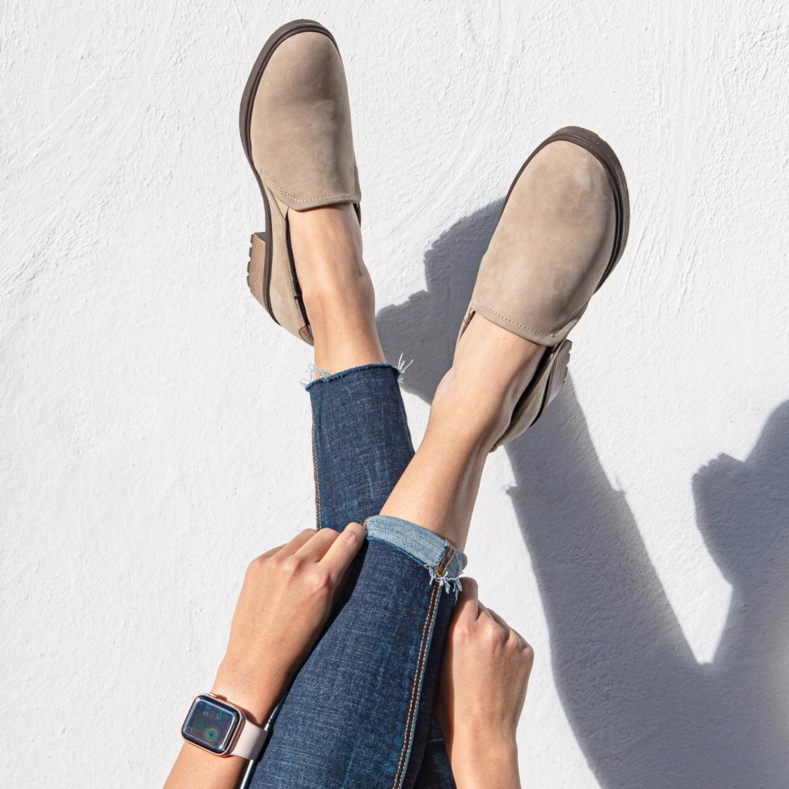 suede loafers, chunky loafers, low heels, loafers women, loafers, block heels, spring trends, suede leather shoes, suede slippers