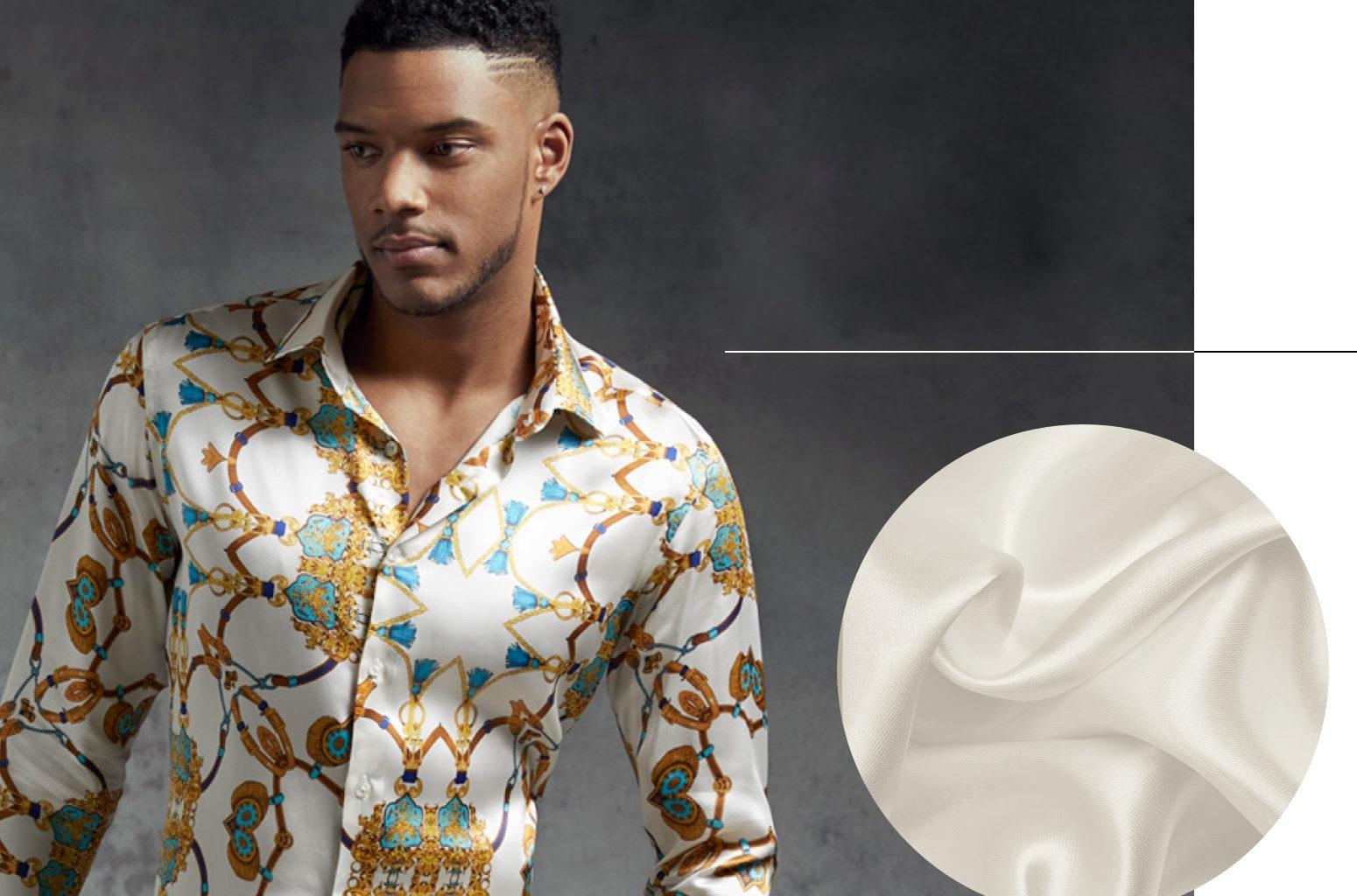 Men's Satin Shirts