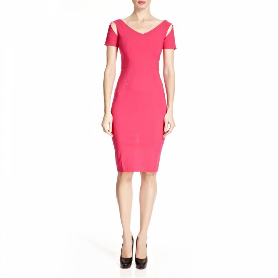 Pink Malibu Pencil Dress