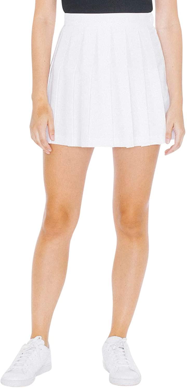 Women's white Gabardine Tennis Skirt