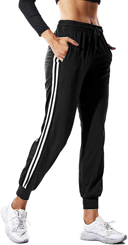 Ladies Joggers 2-Stripes
