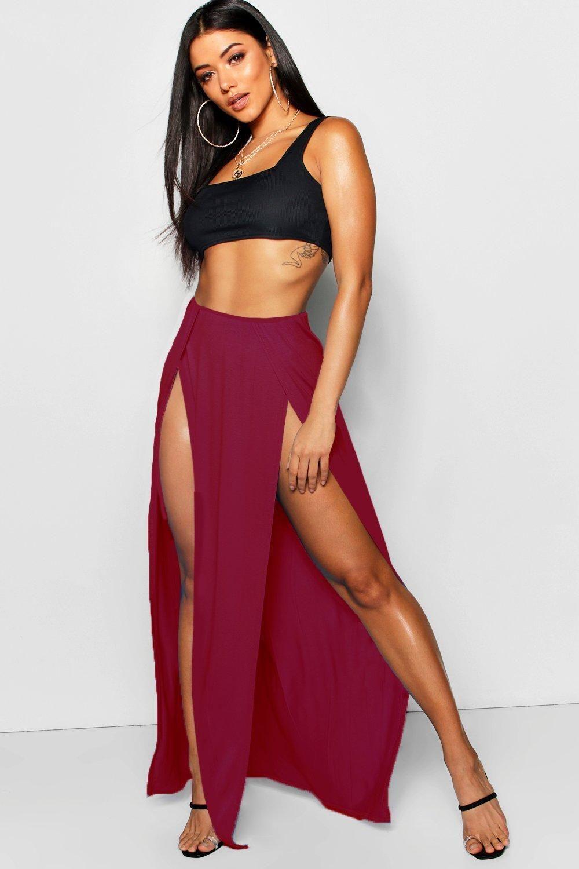 Long Slit Skirt