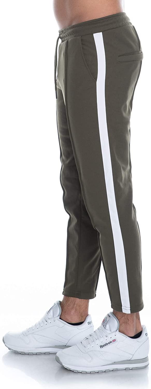 Men's Onsowen Cropped Chino Sweatpants Sports Trousers