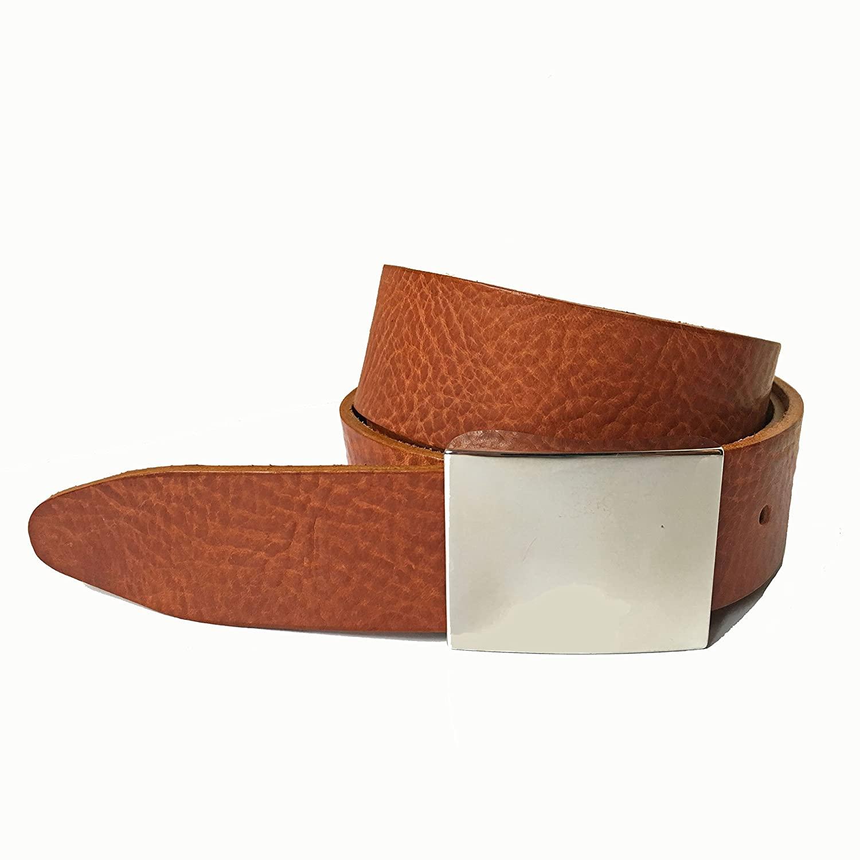 Mens Tan Leather Belt