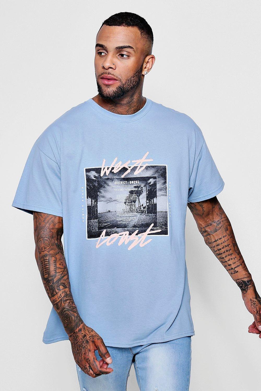 Oversized Graphic T-shirt for men
