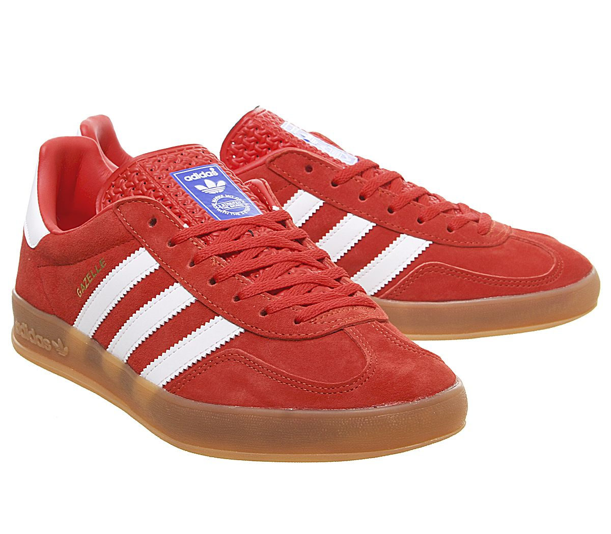 Active Red White Gum sole shoes