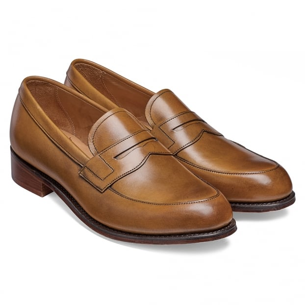 Bonnie Loafer in Original Chestnut Calf Leather