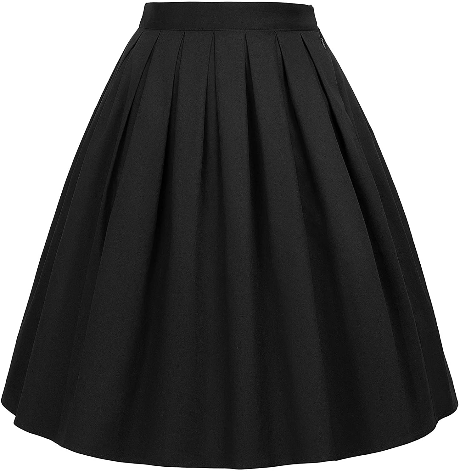 CL6294 Women's Rockabilly Skirt A Line Vintage Retro Skirt Swing Skirt
